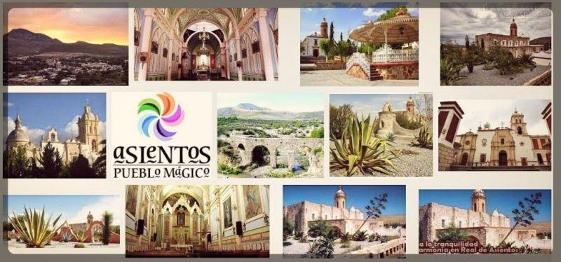 Pueblo Mágico Real de Asientos viajar por mexico