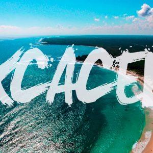 Playa Xcacel Xcacelito - Viajar por mexico