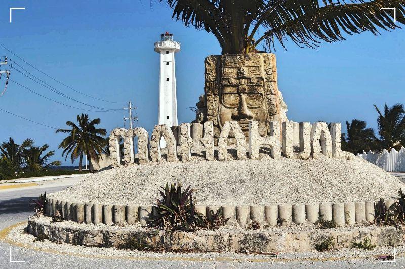 Playa Mahahual - Viajar por Mexico