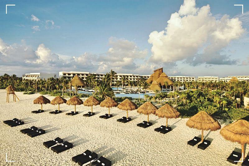 Playa Punta Maroma - Viajar por Mexico