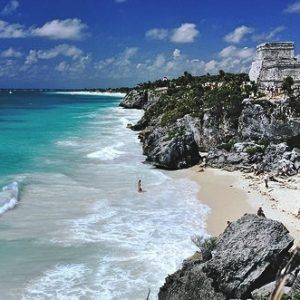 Playa Tulum - Viajar por Mexico