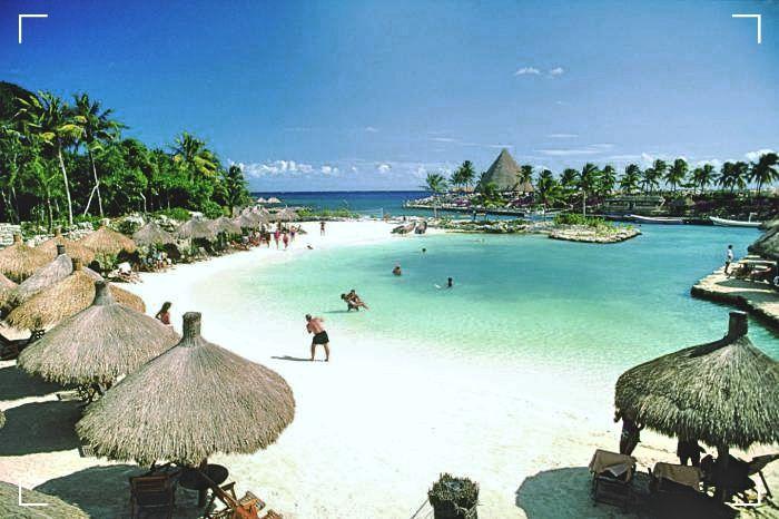 Playa Xcaret - Viajar por Mexico