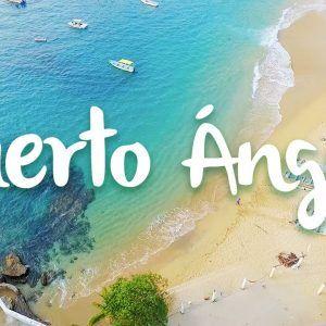 Playa Puerto Angel - Viajar por mexico