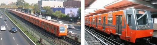 Viajar Por México DF - metro de la ciudad