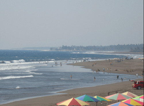 Playa Boca de Pascuales surf Colima