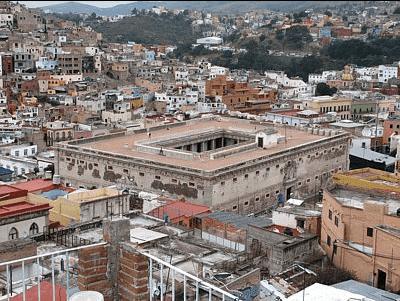 Alhondiga de granaditas Guanajuato leon viajar por mexico