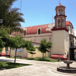 Iglesia y Ex Convento de la Cruz de Zacate tepic