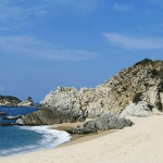 Playa faro de Bucerias