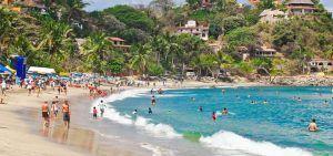 Playa sayulita viajar por mexico