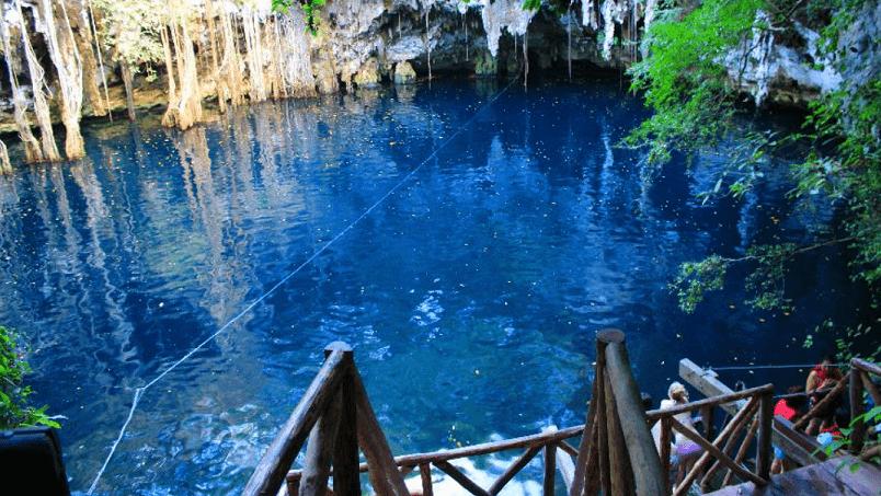 Cenote Yokdzonot viajar por mexico