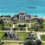 Zona Arqueologica Tulum viajar por mexico
