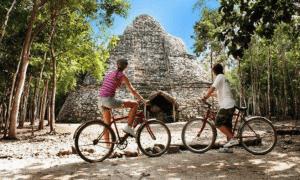 Zona Arqueologica Coba viajar por mexico